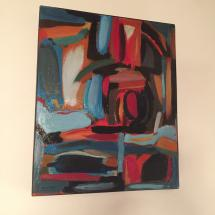 tableau peinture abstraite design